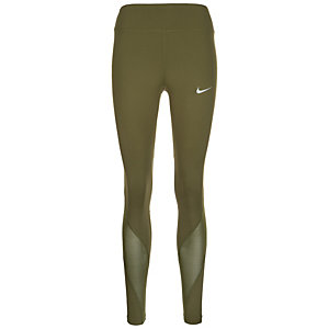 Nike Power Epic Lux Lauftights Damen oliv