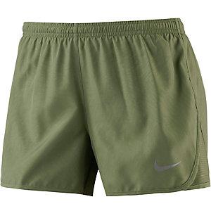 Nike Modern Tempo Laufshorts Damen oliv