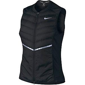 Nike Aeroloft Laufweste Damen schwarz
