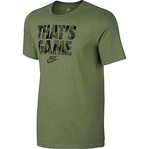 Nike T-Shirt Herren oliv
