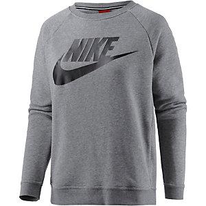 Nike Sweatshirt Damen grau/schwarz