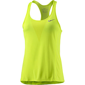 Nike Laufshirt Damen gelb