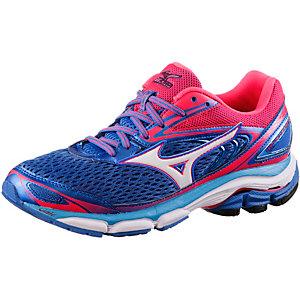Mizuno Wave Inspire 13 Laufschuhe Damen blau/pink
