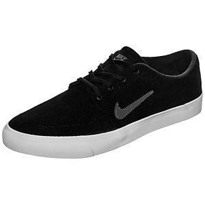 Nike Portmore Canvas Premium Sneaker Herren schwarz / grau