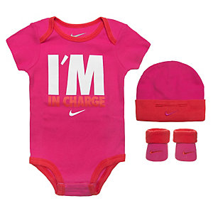 Nike I'm In Charge Baby Body Mädchen pink / rot