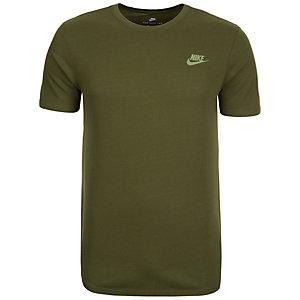 Nike Crackle Print T-Shirt Herren grün