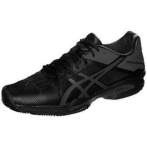 ASICS Gel-Solution Speed 3 Clay Tennisschuhe Herren schwarz / grau