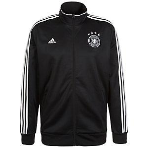 adidas DFB 3-Streifen Trainingsjacke Herren schwarz / weiß