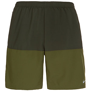Nike Distance Laufshorts Herren grün / dunkelgrün