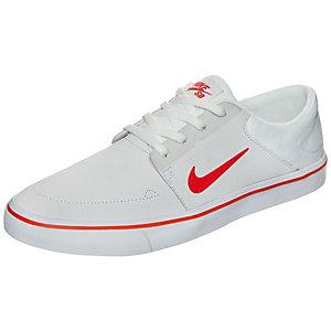 Nike Portmore Sneaker Herren beige / orange