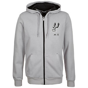 adidas San Antonio Spurs Fanwear Trainingsjacke Herren grau / schwarz