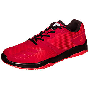 adidas gym warrior 2 fitnessschuhe herren rot schwarz im. Black Bedroom Furniture Sets. Home Design Ideas