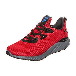 adidas Alphabounce Laufschuhe Kinder rot / schwarz