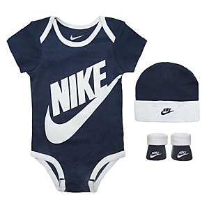 Nike Futura Logo Baby Body Kinder weiß / blau