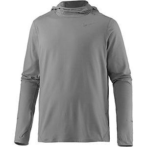 Nike Element Laufhoodie Herren grau