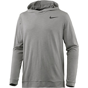 Nike Breathe Hyper Dry Kapuzenshirt Herren hellgrau