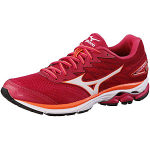 Mizuno Wave Rider 20 Laufschuhe Damen pink/orange