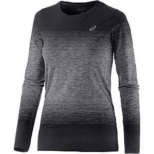 ASICS fuzeX Laufshirt Damen schwarz/grau