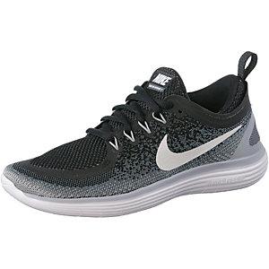 Nike Free RN Distance 2 Laufschuhe Damen schwarz