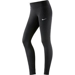 Nike Power Epic Lux Lauftights Damen schwarz/grau