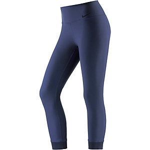 Nike Power Legend Crop Lauftights Damen royal