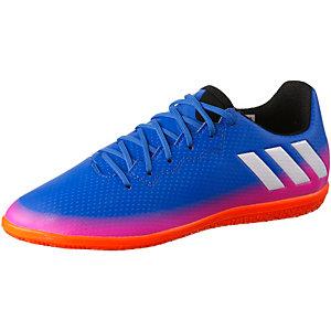 adidas MESSI 16.3 IN J Fußballschuhe Kinder blau