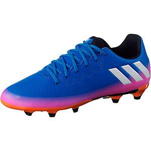 adidas MESSI 16.3 FG J Fußballschuhe Kinder blau