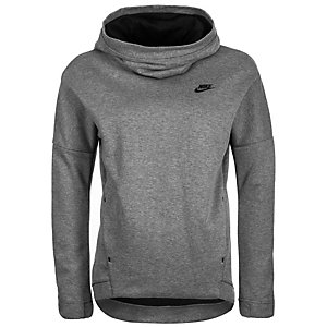 Nike Tech Fleece Hoodie Damen grau / anthrazit
