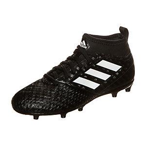 adidas ACE 17.3 Chequered Black Fußballschuhe Kinder schwarz / weiß