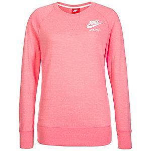 Nike Gym Vintage Crew Sweatshirt Damen korall / weiß