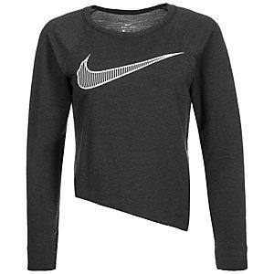Nike Dry Funktionsshirt Damen anthrazit / weiß