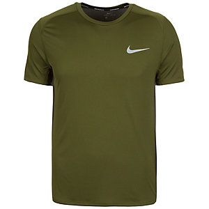 Nike Dry Miler Laufshirt Herren grün