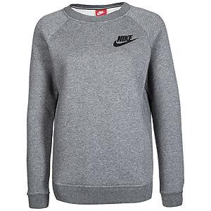 Nike Rally Crew Sweatshirt Damen grau / schwarz