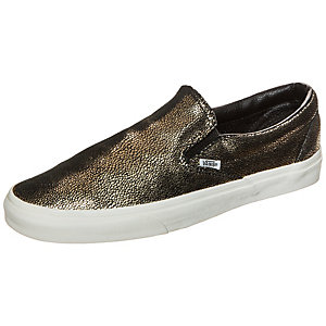 Vans Classic Slip-On Gold Dots Sneaker gold / schwarz