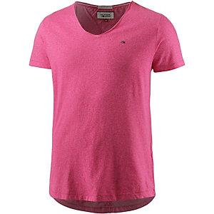 Tommy Hilfiger V-Shirt Herren pink