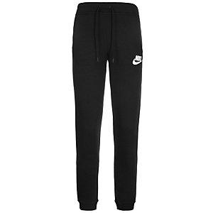 Nike Rally Sweathose Damen schwarz / weiß