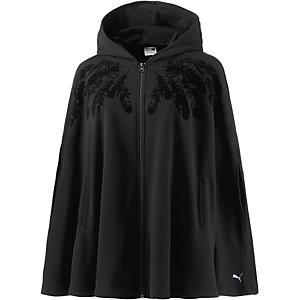 PUMA Swan Cape Sweatshirt Damen schwarz