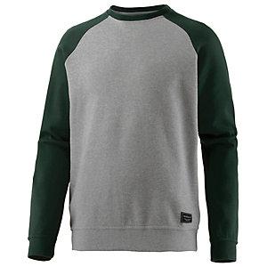 iriedaily Steven Raglan Sweatshirt Herren graumelange/grün
