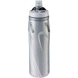 Camelbak Podium Ice 620 ml Trinkflasche silver/Logo