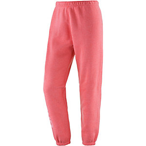 Under Armour Favorite Fleece Trainingshose Damen rot/melange