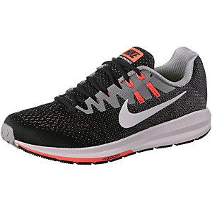 Nike Air Zoom Structure Laufschuhe Herren schwarz/grau/orange