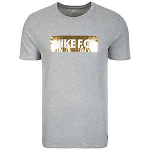 Nike F.C. Foil T-Shirt Herren grau / schwarz