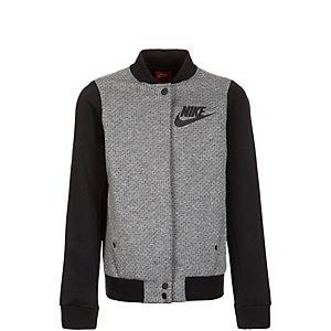 Nike Tech Fleece Destroyer Trainingsjacke Kinder grau / schwarz