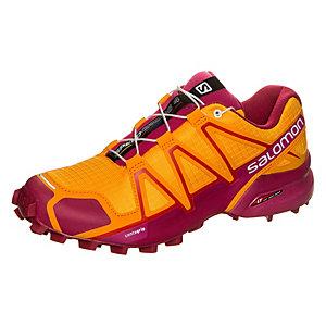 Salomon Speedcross 4 Laufschuhe Damen orange / pink