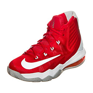Nike Air Max Audacity 2016 Basketballschuhe Kinder rot / grau