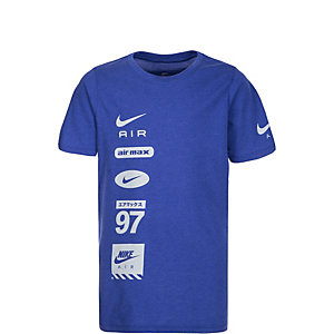 Nike Air Pillar Funktionsshirt Kinder blau / grau