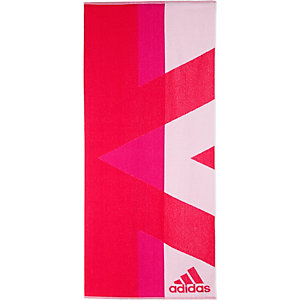 adidas Badetuch rot/pink/weiß