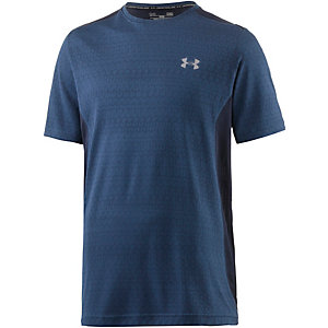 Under Armour HeatGear Raid Graphic Funktionsshirt Herren blau