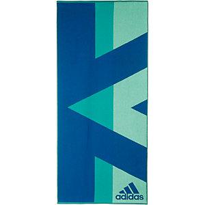 adidas Badetuch blau/hellblau