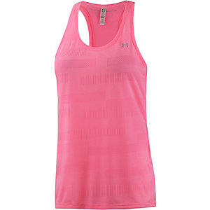 Under Armour Threadborne Train Jacquard Tanktop Damen pink